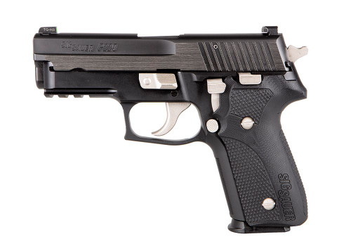 "Sig P229 Custom Works Equinox 9mm, 1 of 300, 3.9"" Barrel, XRay3, Two-Tone, 15rd"