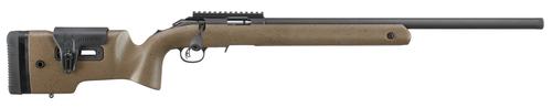 "Ruger American Rimfire LRT .22 LR, 22"" Threaded Barrel, Brown, 10rd"