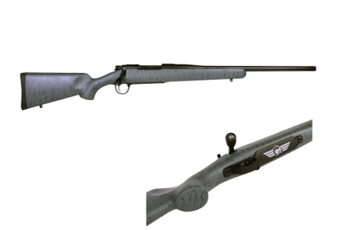 "Christensen Arms Mesa 6.5 Creedmoor, 22"" Barrel W/Brake, Gray/Black, Oversize Bolt Knob, Match Trigger"