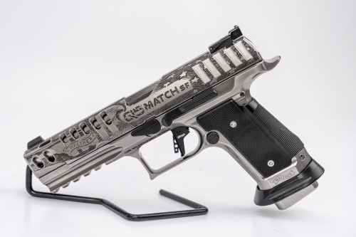 Walther Meister Series PPQ Q5 Match SF 9mm, Patriot Edition