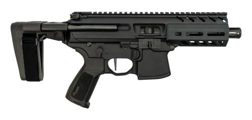"Sig MPX Pistol Used 9mm, 4.5"" Barrel, Sig Brace, M-LOK, Black, 30rd"