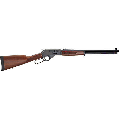 """Henry Repeating Arms, Lever Action, Side Action, 30-30, 20"""" Barrel, Blue Finish, Walnut Stock, Adjustable Sights, 5Rd"""