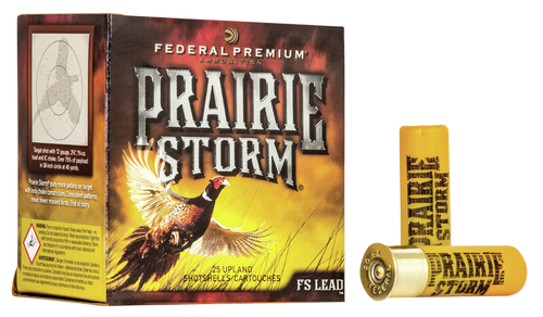 "Federal Prairie Storm FS Lead 16 Ga, 2.75"", 1 1/4 oz, 6 Shot, 25rd Box"