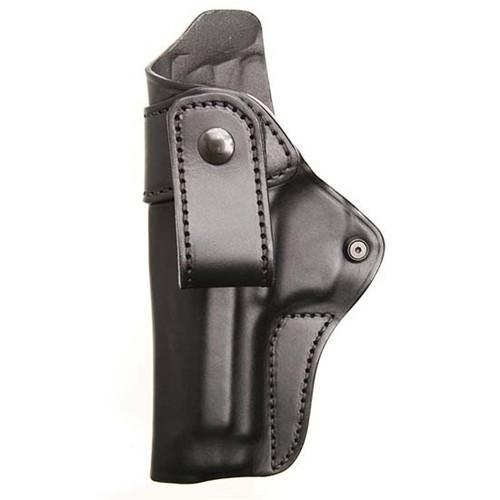 Blackhawk IWB Leather Holster, M&P Shield, LH, Black