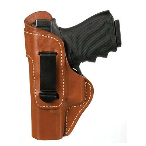 """Blackhawk IWB Leather Holster, Springfield XDS 3.3"""", LH, Brown"""