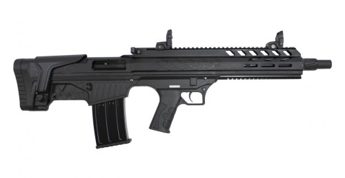 "SDS Imports Radikal NK-1 12 Ga Bullpup, 19"" Barrel, 3"", Flip-Up Sights, Black, 5rd"