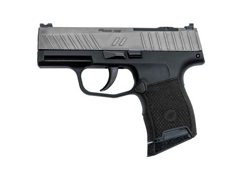 "ZEV Tech Z365 Octane Gun Mod 9mm, 3.1"" Barrel, Optics Ready, Zev Laser Stipple, Black/Titanium, 10rd"