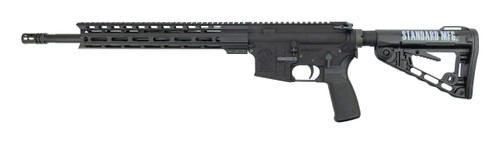 "Standard Mfg. STD-15 .223/5.56, 16"" Barrel, 13"" M-LOK Rail, Black, 30rd"