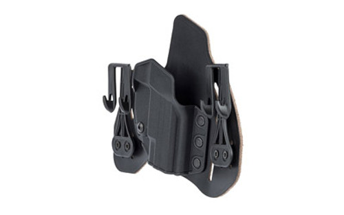 "Blackhawk Leather Tuckable Pancake Holster, Springfield XDS 3.3"", RH, Black"