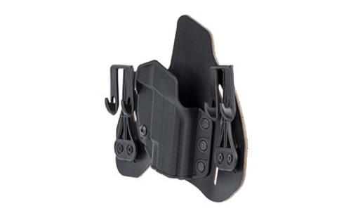 "Blackhawk Leather Tuckable Pancake Holster, Springfield XDS 3.3"", RH, Black"