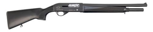 """Black Aces Tactical Pro Series S MAX 12 Ga, 18.5"""" Barrel, 3"""", Black, 6rd"""