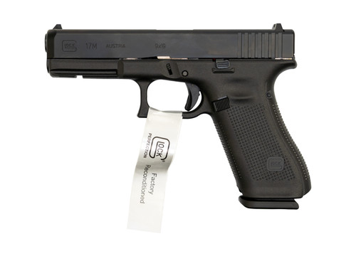 "Glock Factory Reconditioned G17M AUS 9mm, 4.49"" Barrel, FS, Black, 17rd"
