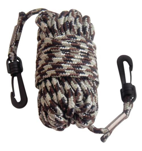 Primos Hunting Calls Pull-Up Nylon Rope With Snap Hooks At Both Ends 30 Feet Camouflage