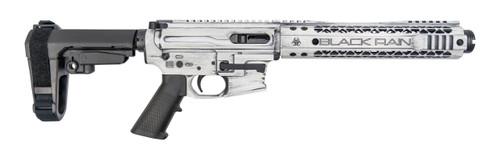 "Black Rain Ordnance Fallout CQB 9mm, 9"" Barrel, SBA3, White, 30rd"