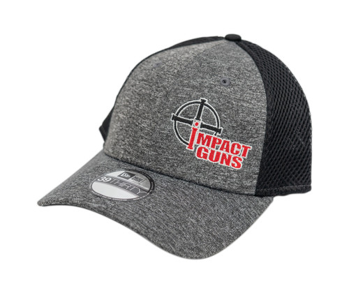 Impact Guns Logo Hat, Black/Gray, Large/XL