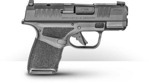 "Springfield Hellcat OSP 9mm, 3"" Barrel, Tritium Front/Tactical Rear Sight, Black, 10rd"