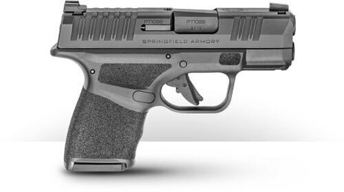 """Springfield Hellcat 9mm, 3"""" Barrel, Tritium Front/Tactical Rear Sight, Black, 10rd"""