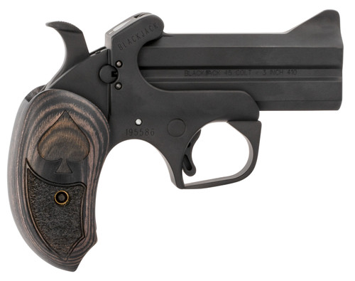"Bond Arms Black Jack .45 Colt/410 Ga, 3.5"" Barrel, Black, 2rd"