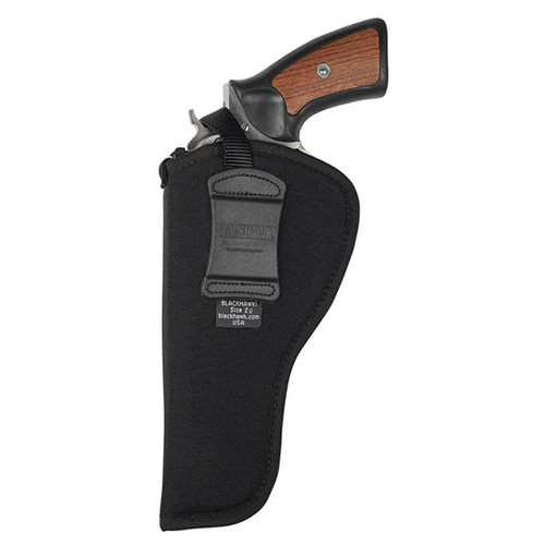 "Blackhawk Hip Holster, 8.3"" Barrel Revolver, RH, Black"