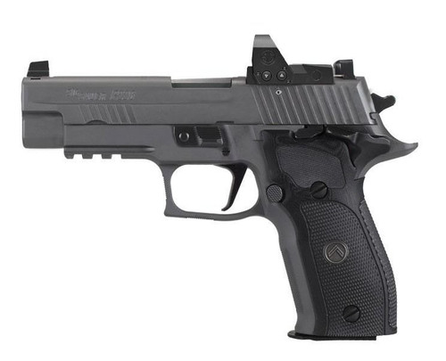 "Sig P226 Legion RXP SAO 9mm, 3.9"" Barrel, Romeo1 Pro, X-Ray 3, Legion Gray, 10rd"