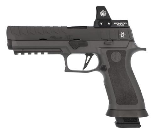 "Sig P320 MAX 9mm, 5"" Barrel, Romeo3 MAX, TXG Grip, Nitron, 4x 21rd"