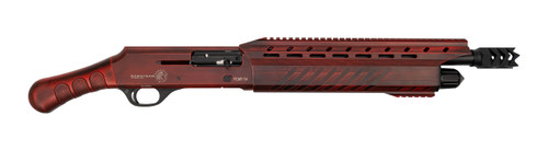 "Garaysar FEAR-114 Shorty 12 Ga, 14"" Barrel, Red/Crimson, 5rd"