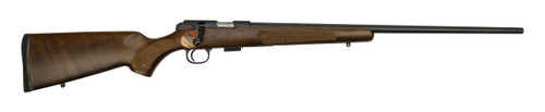 "CZ 457 American Unfired-Blemished .22 LR, 24"" Barrel, Turkish Walnut, Black, 5rd"