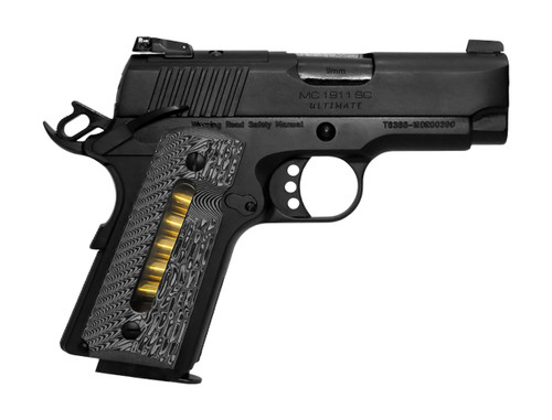 "EAA Girsan MC1911 SC Ultimate 9mm, 3.4"" Barrel, G10, Blued/Black, 7rd"