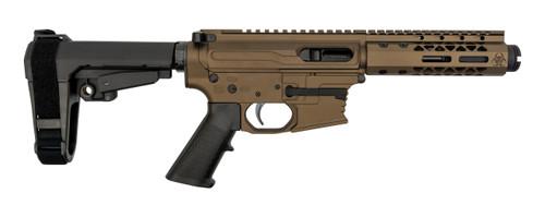 "Black Rain Ordnance Fallout CQB 9mm, 4"" Barrel, SBA3, Bronze Cerakote, 30rd"