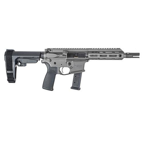 "Christensen Arms CA9MM 9mm, 7.5"" Barrel, M-LOK, SBA3, Tungsten, 21rd"