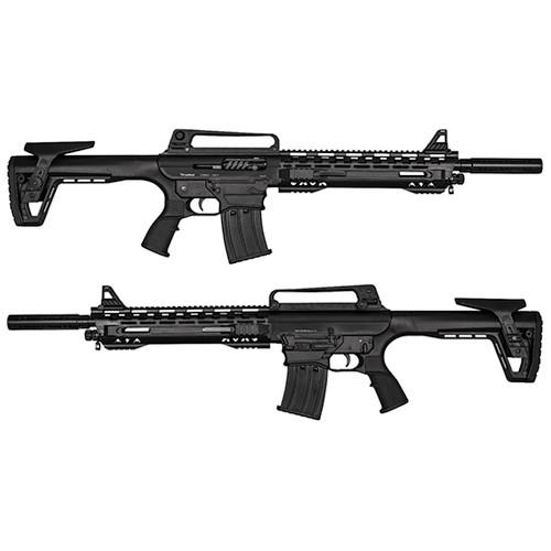 "SDS Imports Radikal MKX 12 Ga, 19"" Barrel, 3"", Polymer, Black, 5rd"