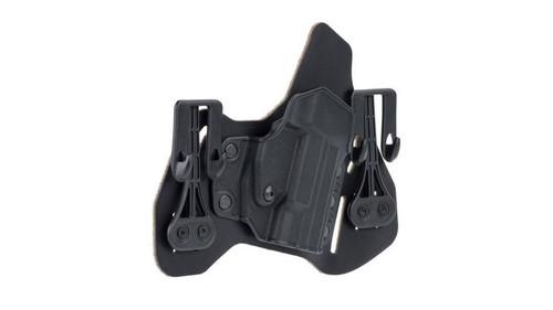 Blackhawk Leather Tuckable Pancake Holster, Glock 45/S&W M&P, RH, Black