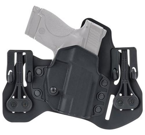 "Blackhawk Leather Tuckable Pancake Holster, Glock/S&W M&P W/ 4.25"" Barrel, RH, Black"