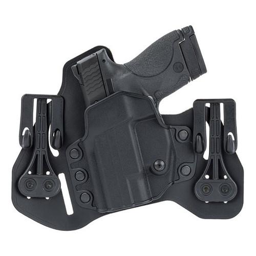 Blackhawk Leather Tuckable Pancake Holster, Glock 45/S&W M&P, LH, Black