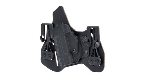 Blackhawk Leather Tuckable Pancake Holster, M&P Shield, LH, Black