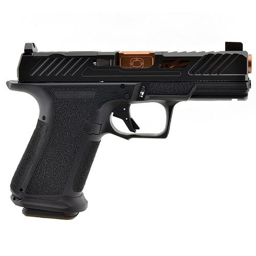 """Shadow Systems MR920 Elite 9mm, 4"""" TiCN Barrel, Optics Ready, Black, 15rd"""