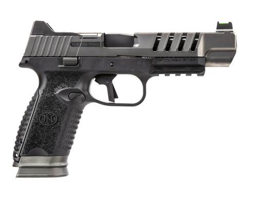"FN 509 LS Edge 9mm, 5"" Barrel, Optics Ready, Black/Gray, 3x 17rd"