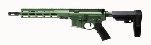 """Geissele Super Duty .223/5.56, 11.5"""" Barrel, SBA3, OD Green, 30rd"""