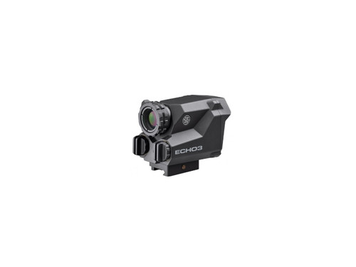 Sig ECHO3, Thermal Reflex Sight, 1-6X23, 1913 Picatinny QD Mount, LEVELPLEX Anti-Cant System, BDX WiFi/Bluetooth Enabled, Black Color