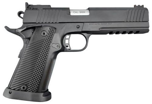 """Armscor Pro Match Ultra  1911 9mm, 5"""" Barrel, G10 Grips, Black Parkerized, 17rd"""