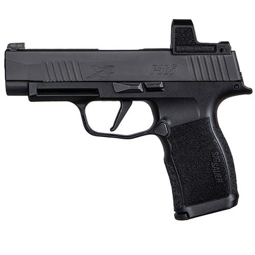 "Sig P365 XL 9mm, 3.7"" Barrel, X-Ray3 NS, Romeo Zero, Black, 10rd"