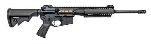 "LWRC IC A2 5.56/.223, 16"" Barrel, Quad Rail, Magpul Pro Ironsights, Black, 30rd"