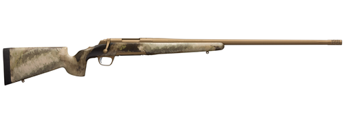 """Browning X-Bolt Hells Canyon Long Range 300 PRC 3+1 26"""" A-TACS AU Camo Fixed McMillan Game Scout Stock Burnt Bronze Cerakote Right Hand"""