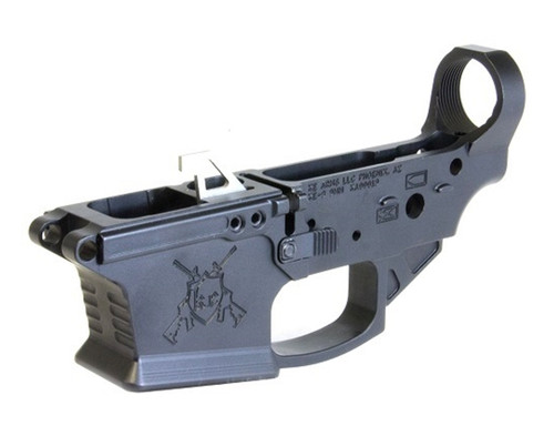 KE Arms KE-9 Billet Stripped Lower 9mm, Includes Mag Release, Ambidextrous, Black