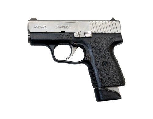 "Kahr PM9 Used 9mm, 3"" Barrel, Polymer Frame/SS Slide, Fixed Sights, 7rd"