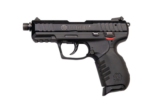 "Ruger SR22PBT Used .22 LR, 3.5"" Threaded Barrel, 3-Dot Sights, Black, 10rd"
