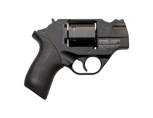 "Chiappa Rhino 200DS Used .357 Mag, 2"" Barrel, FO Sights, Black, 6rd"
