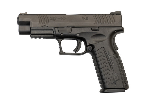 "Springfield XDM Used .40 S&W, 4.5"" Barrel, FO Front, Black Melonite, 2x16rd"