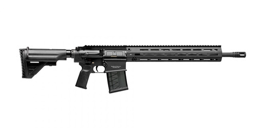 "HK MR762 A1 7.62 NATO, 16.5"" Med Contour Barrel, Adj. Stock, Black, 20rd"