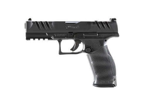 "Walther PDP Full Size 9mm, 4.5"" Barrel, Optics Ready, Black, 18rd"